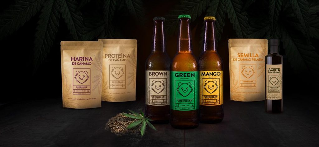 GreenBear productos a base de semillas de cáñamo